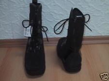 Halbstiefel Stiefel / ette Mädchenstiefel NEU Gr. 38 in schwarz & Leder & Lack