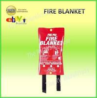 FIRE BLANKET 1m x 1m BBQ Cooking Caravan GAS Kitchen Safety BOAT CAR JAYCO PARTS