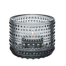 Iittala Kastehelmi Teelichthalter - grau - NEU+OVP