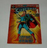 KEY January 1971 DC COMICS SUPERMAN #233 KRYPTONITE NEVERMORE CURT SWAN ART
