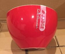 Set Of 2 Judge Porcelain Cereal Bowls 15cm- Red