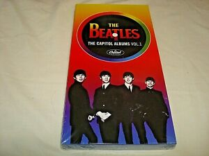 BEATLES-THE CAPITOL ALBUMS VOL.1 STEREO & MONO VERSIONS 4 DISCS UK NEW SEALED CD