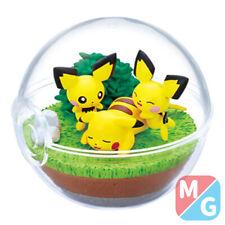 More details for re-ment pokemon terrarium collection 9 - pikachu & pichu