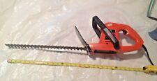 Sears craftsman hedge trimmer 18 inch blade runs clean