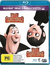Hotel Transylvania / Hotel Transylvania 2 (Blu-ray, 2016, 2-Disc Set)