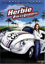 '63 VW White Racing Beetle The Love Bug Sequel NASCAR Herbie Fully Loaded on DVD