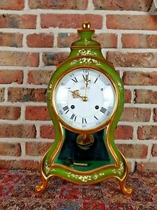 Luxury Swiss Made Le Castel Boulle clock with Matching Console (Big size) 1981