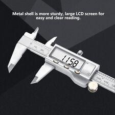 CALIBRO DIGITALE CORSOIO IN ACCIAO CON DISPLAY LCD 0-150mm CON CUSTODIA RIGIDA