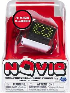 NOVIE Interactive Smart Robot - Over 75 Actions and Learns 12 Tricks (Red)