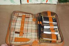 Vintage Men's Leather Case - Travel Grooming Kit – West Germany