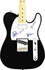 NIRVANA HAND SIGNED AUTOGRAPHED ELECTRIC GUITAR BY 3! RARE! EXACT PROOF +C.O.A.!