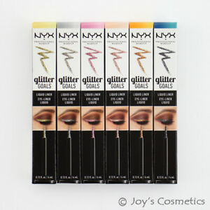 "1 NYX Glitter Goals Liquid Eyeliner ""Pick Your 1 Color"" *Joy's cosmetics*"