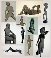 140 pcs 3d STL models statues Girls mega collection for CNC  3d print 4 axis