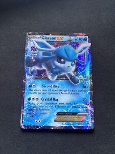 Glaceon EX 20/124 Ultra Rare Pokemon TCG XY Fates Collide NM