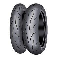 Motorcycle Tyres Mitas Sportforce Plus 120/70/ZR17 & 180/55/ZR17 Pair Deal *NEW*
