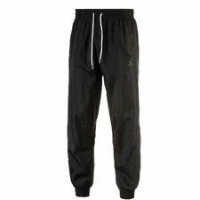 Puma Colorblock Woven Pants Mens Jogging Bottoms Casual Black 572419 01 A62D