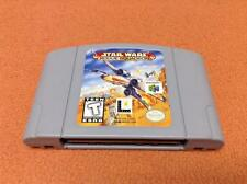 Star Wars Rogue Squadron *Authentic* Nintendo 64 N64 Super FREE SHIP!