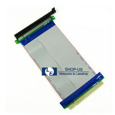 New PCI-Express PCI-E 16X to 16X Slot Riser Card Extender Extension Ribbon Cable