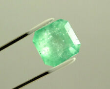 19 Carat Square Natural Colombian Emerald Loose Gemstone
