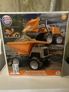 American Plastic Toys Mega Construction Set (2) Orange 1.5yrs.+ - New