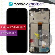DISPLAY MOTOROLA MOTO E6 PLUS XT-2025 SCHERMO + FRAME LCD TOUCH SCREEN VETRO
