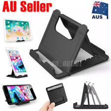 Universal Desk Stand Mobile Phone Tablet Holder Adjustable Foldable Portable AU