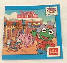 Jim Henson's Muppet Babies: The Legend of Gimme Gulch - McDonald's premium
