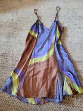 Victoria Secret Silk Night  Lingerie Dressy Nightgown Medium (M) Blue. Pre-owned