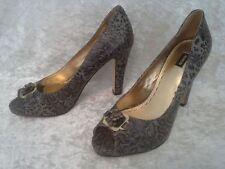Mimco Block Open Toe Heels for Women