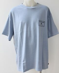 QUIKSILVER Mens Printed T Shirt - BLUE - SIZE - XL - NEW - BOXY FIT