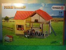 SCHLEICH FARM WORLD Dairy BARN WITH ACCESSORIES #42334  *NEW*