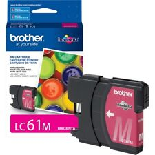 Genuine Brother LC61  (LC61M) Magenta ink cartridge Fresh & FREE SHIPPING