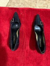 enzo angiolini 7.5 Medium Black Heels