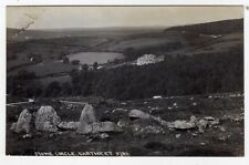 DEVON, DARTMEET, THE STONE CIRCLE AND GENERAL VIEW, RP