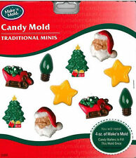 Christmas Holiday Assortment Chocolate Candy Mold from Make 'n Mold  #2152 - NEw