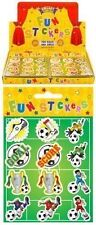 24 Packs Mini Football Stickers Boys Party Loot Bag Fillers