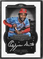 OZZIE SMITH 2013 Topps Museum Silver Framed Autograph Auto 08/10 Cardinals