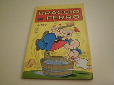 BRACCIO DI FERRO NUMERO 4 DELL'APRILE 1967 DA EDICOLA, PERFETTO