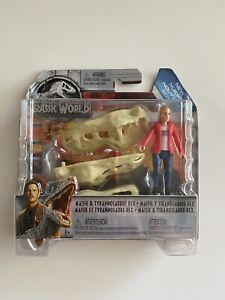 Jurassic World MAISIE & TYRANNOSAURUS REX Fallen Kingdom Action Figure NEW