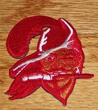 """Tampa Bay Buccaneers Buccaneer Bruce Polo Size Patch Iron-on 2.5"""" x 2"""" NEW *1P"""
