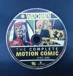 Watchmen - The Complete Motion Comic Disc One (DVD, 2009) Tested and Working