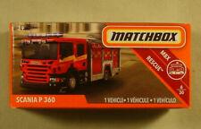 "Matchbox boxed Scania P 360 fire truck #56/125 ""Power Grabs"" 2019"