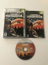 Conflict: Desert Storm (Microsoft Xbox, 2002) CIB Tested