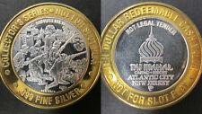 Collectors Series Minutemen Taj Mahal 999 Pure Silver Casino Coin Silver Strikes