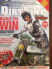 Classic Dirt Bike Magazine Issue 32  2014 Triumph Elsinore XT500 TT500 AHRMA