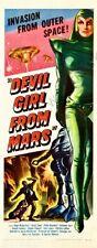 Devil Girl From Mars Movie Poster Insert 14inx36in 36cmx92cm Replica