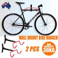 2Pcs Wall Mount Bicycle Foldable Storage Rack Bike Hanging Holder Hook Garage