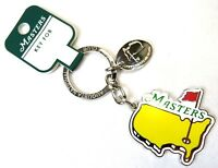 NEW 2018 MASTERS LOGO TOURNAMENT KEY CHAIN from Augusta National - with Tag
