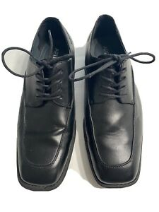 apt 9 Mens Black Oxford Dress Shoes Size 10 1/2