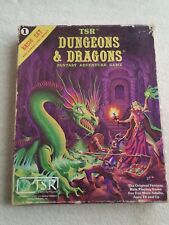 Dungeons & Dragons TSR 1011 vintage set 1980 Basic Set + introduction Module